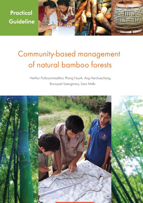Community-based management of natural bamboo forests