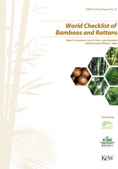 World checklist of Bamboos and Rattans